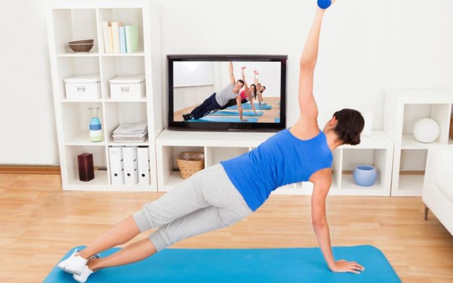 Resultado de imagem para atividade fisica em casa