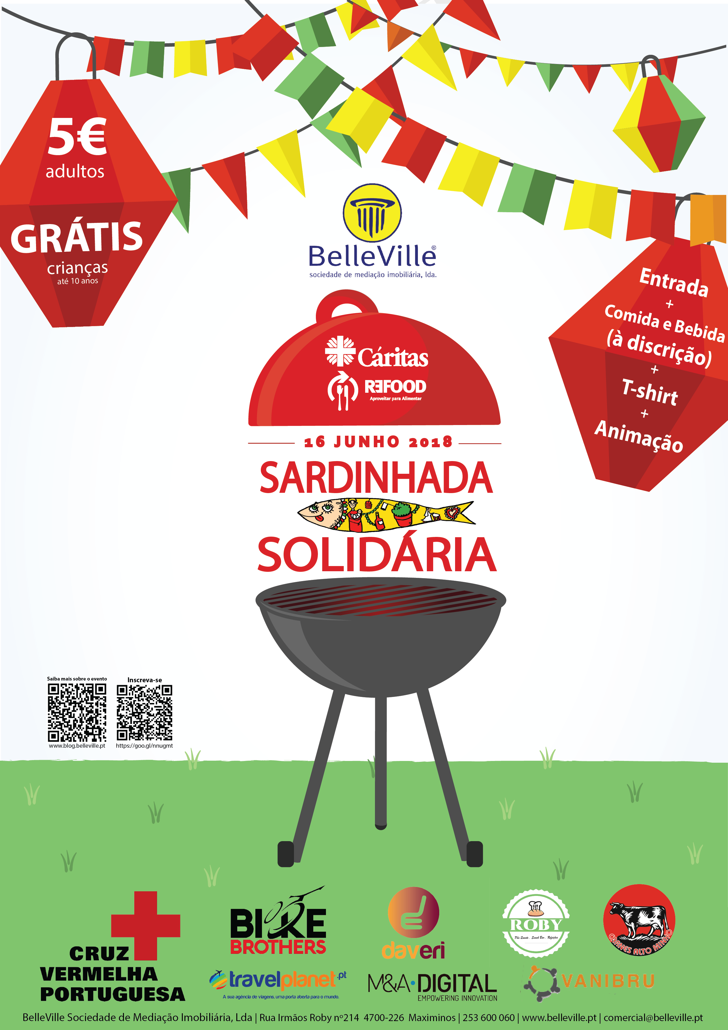 Sardinhada Solidária